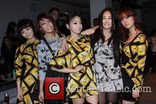 Wonder Girls Mercedes-Benz IMG New York Fashion Week...