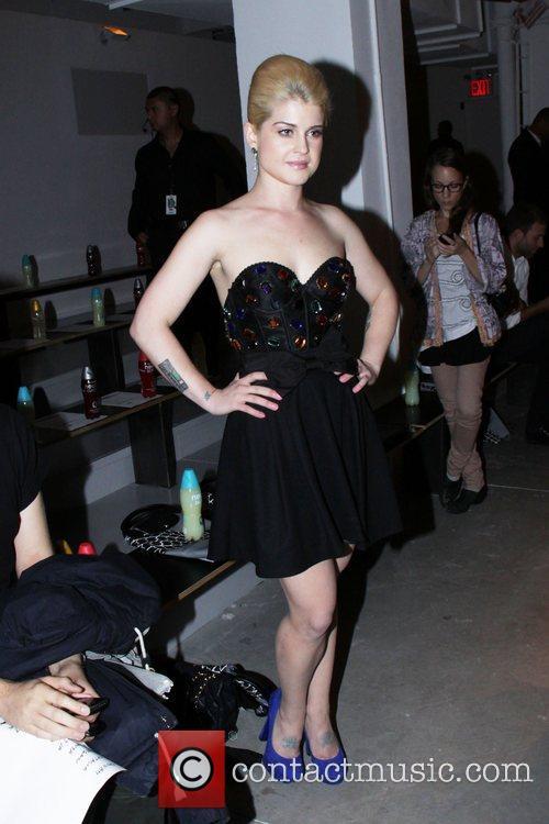 Kelly Osbourne Mercedes-Benz IMG New York Fashion Week...