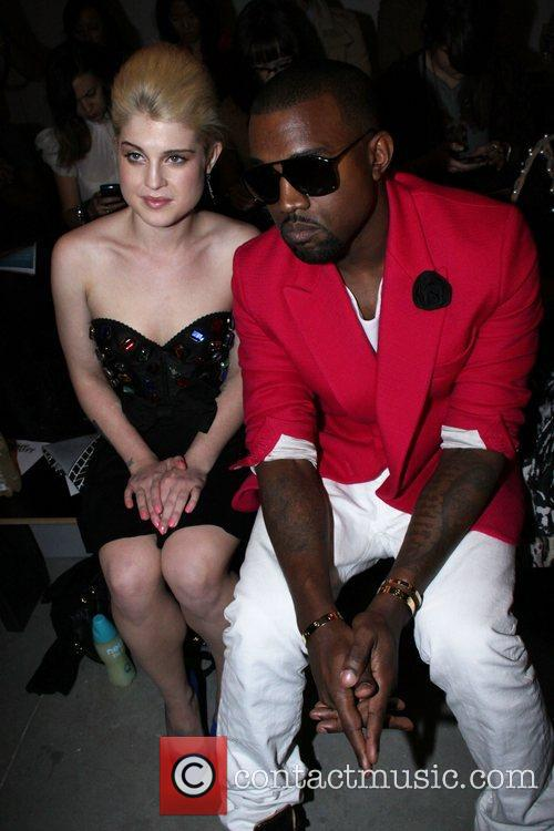 Kelly Osbourne, Kanye West, New York Fashion Week