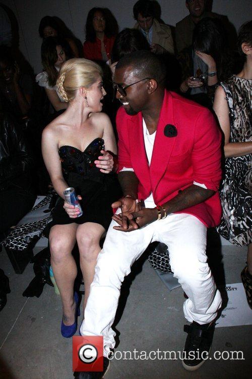 Kelly Osbourne and Kanye West Mercedes-Benz IMG New...