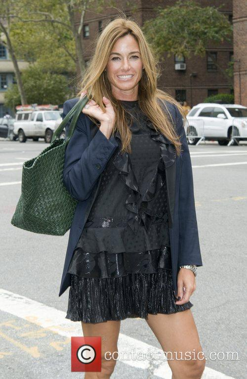 Kelly Bensimon The tents at the Lincoln Center...