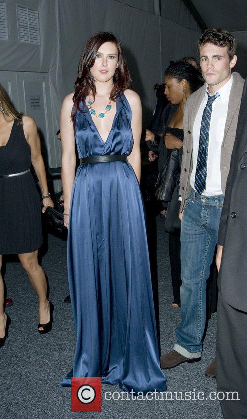 Rumer Willis The tents at the Lincoln Center...