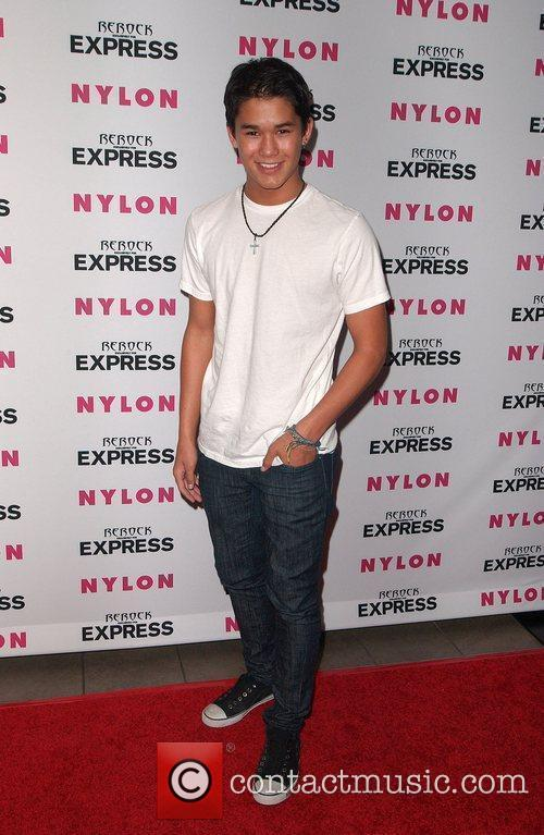 Nylon + Express August Denim Issue Party held...
