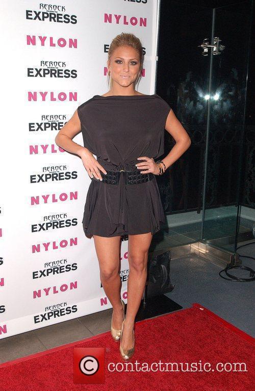 Cassie Scerbo Nylon + Express August Denim Issue...