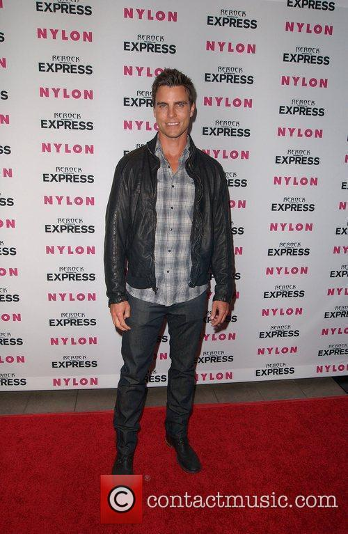 Colin Egglesfield Nylon + Express August Denim Issue...