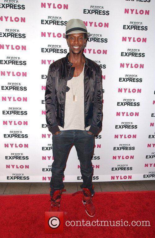 Edi Gathegi Nylon + Express August Denim Issue...