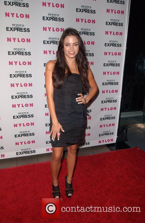 Jenna Dewan Nylon + Express August Denim Issue...