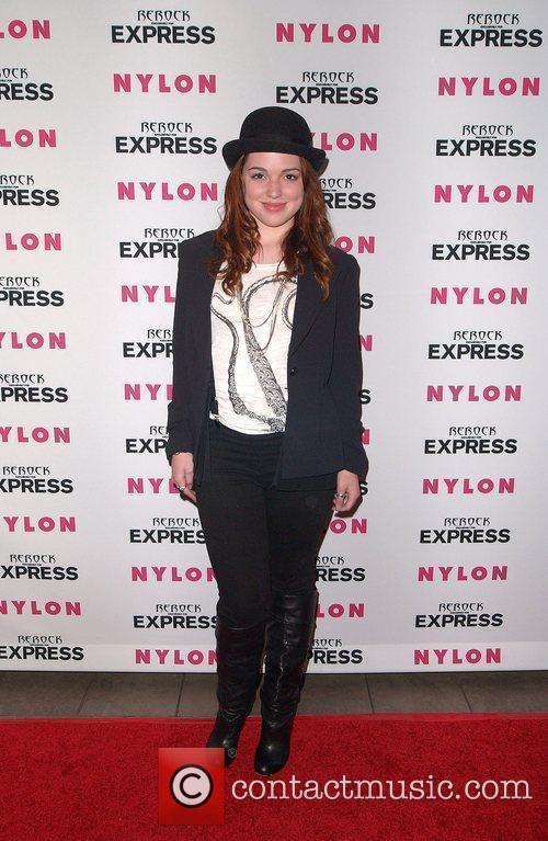 Jennifer Stone Nylon + Express August Denim Issue...