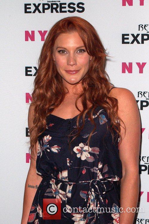 Katee Sackhoff Nylon + Express August Denim Issue...
