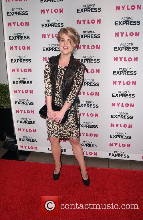 Kelly Osbourne Nylon + Express August Denim Issue...