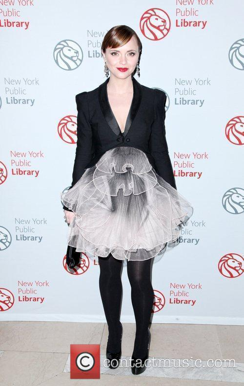 Christina Ricci 2010 Library Lions benefit held at...