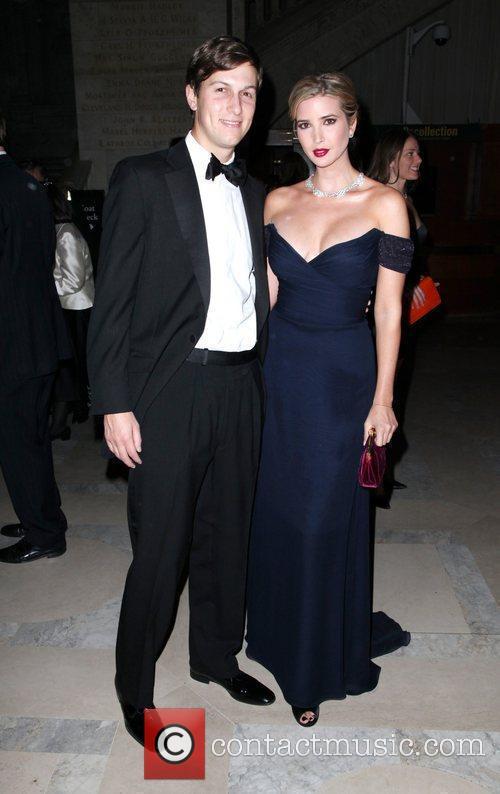 Jared Kushner and Ivanka Trump 2010 Library Lions...