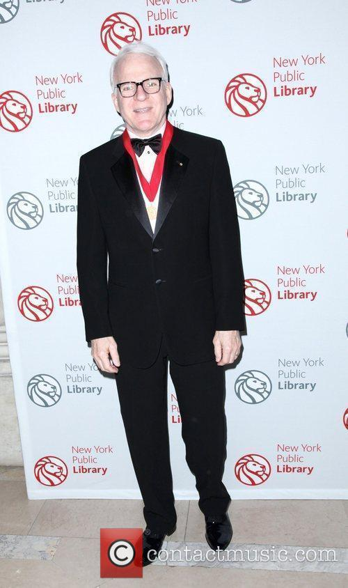 Steve Martin 2010 Library Lions benefit held at...