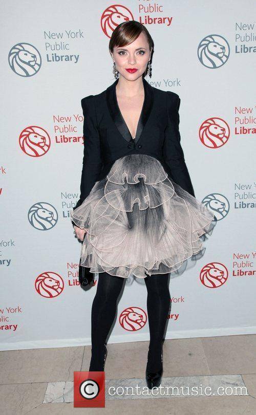 Christina Ricci,  Library Lions benefit held at...