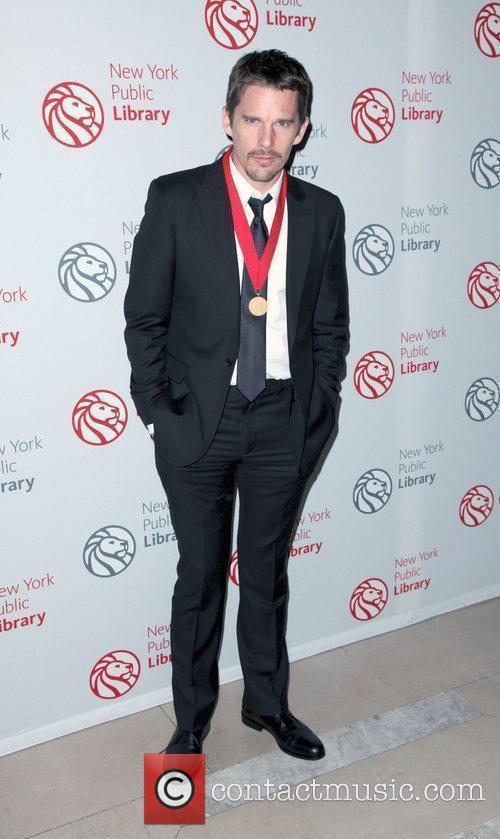 Ethan Hawke,  Library Lions benefit held at...