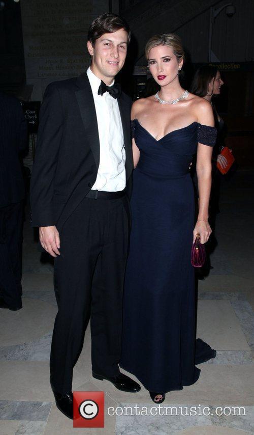 Jared Kushner and Ivanka Trump,  Library Lions...