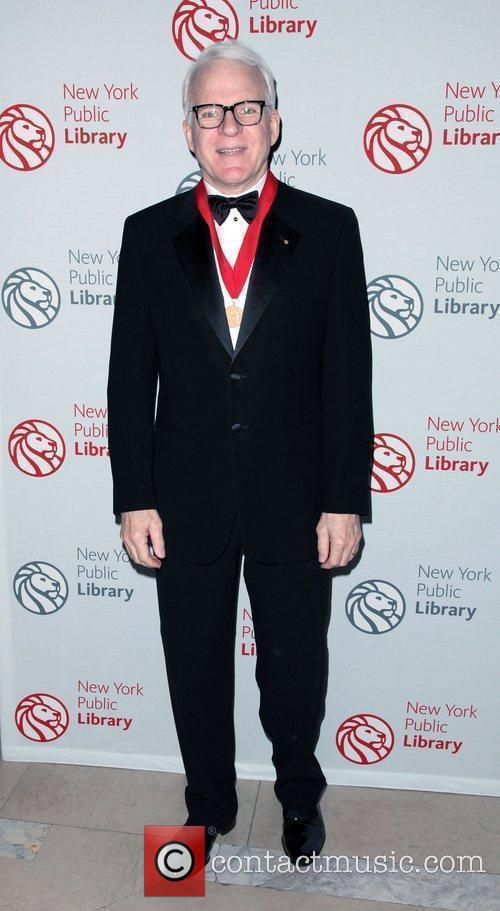 Steve Martin,  Library Lions benefit held at...