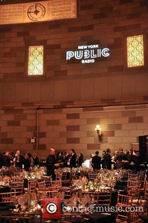 Atmosphere at the New York Public Radio Gala.