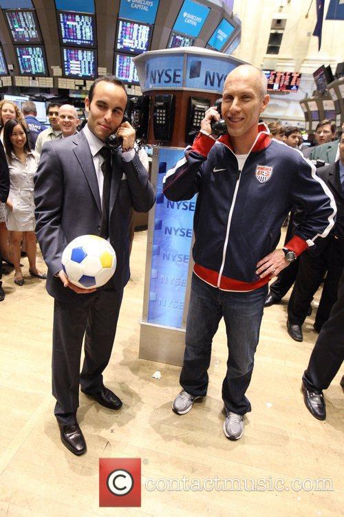 U.S. World Cup Star Landon Donovan and U.S....