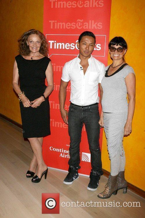 Diane von Furstenberg, Prabal Gurung and Norma Kamali...