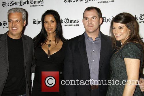Eric Ripert, Padma Lakshmi, Frank Bruni and Gail...
