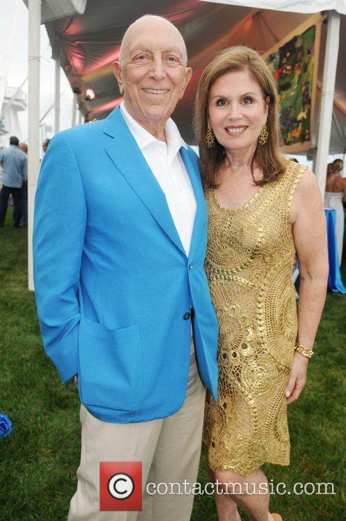 Senator Lautenberg and his wife Bonnie Oceana's 'Splash'...