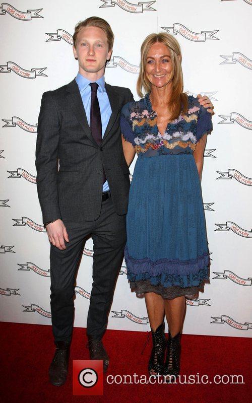 Karin Jimfelt-Ghatan and her son Odd Molly flagship...