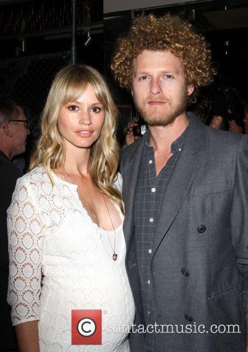 Cameron Richardson and her fiancee Ben Shulman Odd...