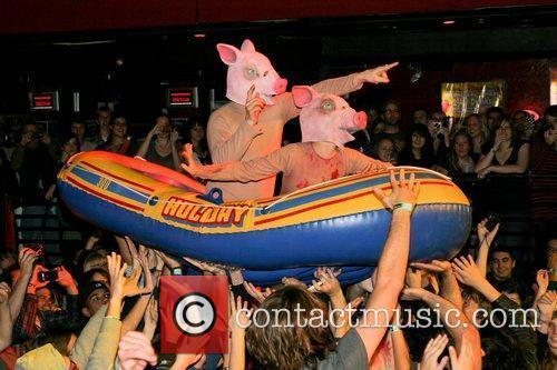 Of Montreal perform live at Club Revolution Florida,...