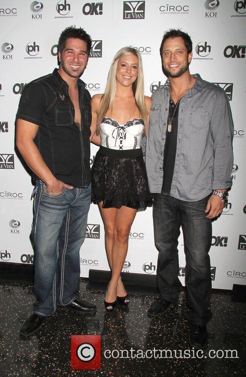 Justin Rego, Natalie Getz, David Good OK! Magazine's...
