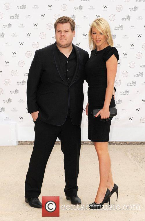 James Corden and Sheridan Smith Summer fundraising party...
