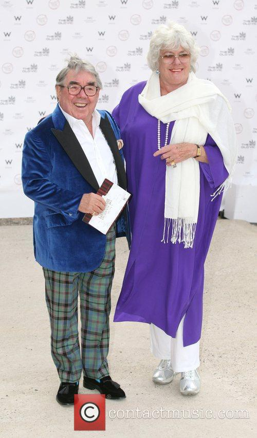 Ronnie Corbett and Anne Hart Summer fundraising party...