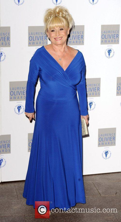 Attends The Laurence Olivier Awards at The Grosvenor...