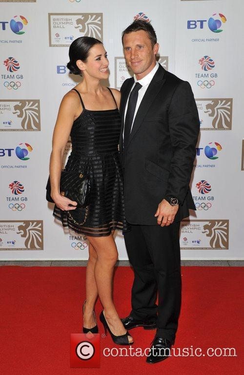 Kirsty Gallacher and guest British Olympic Ball held...