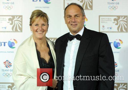 Sir Steven Redgrave and guest British Olympic Ball...