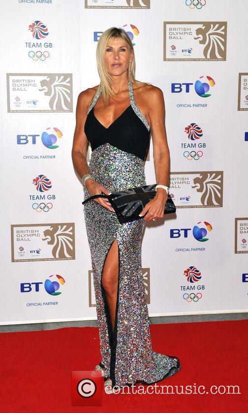 Sharon Davis British Olympic Ball held at the...