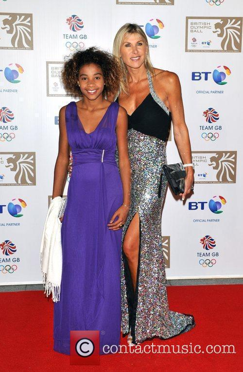 Sharon Davis and guest British Olympic Ball held...