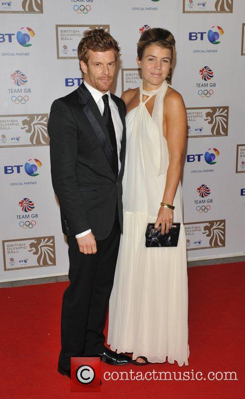 Tom and Amber Aikens British Olympic Ball held...