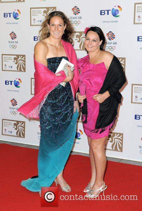 Jennie Bimson and Crista Cullen British Olympic Ball...
