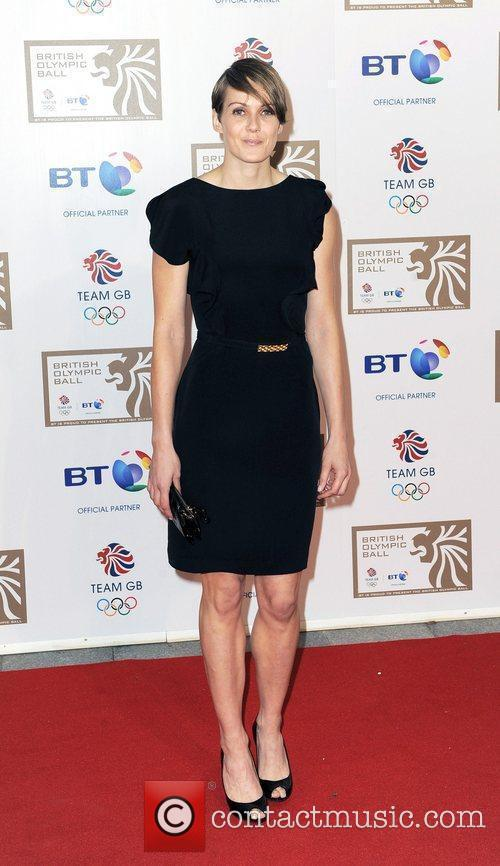 Kelly Sotherton British Olympic Ball held at the...