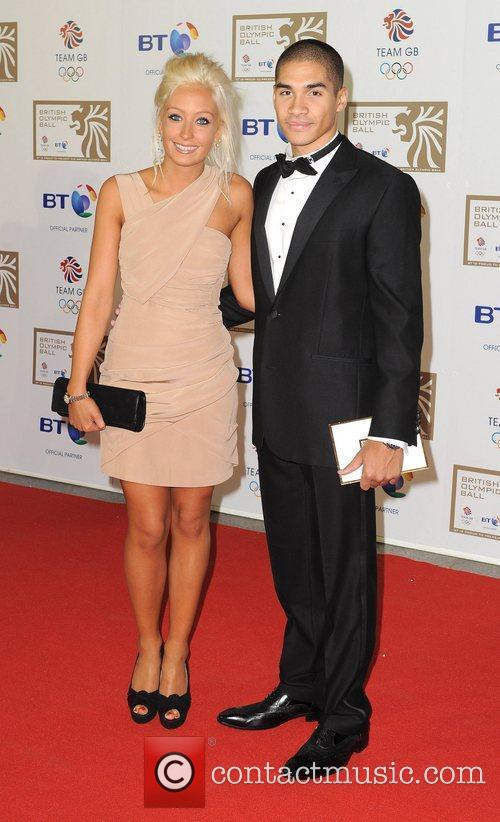 Louis Smith and Guest British Olympic Ball held...