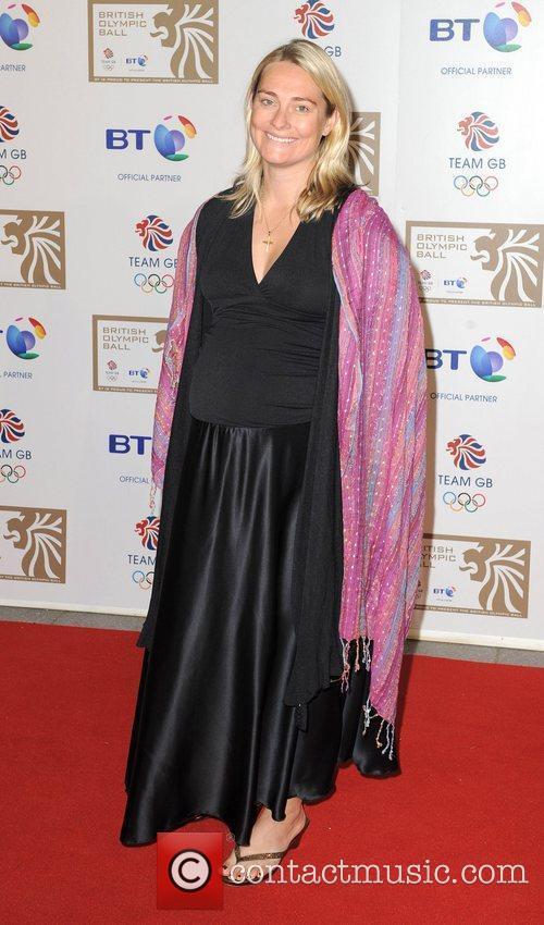 Sarah Webb British Olympic Ball held at the...