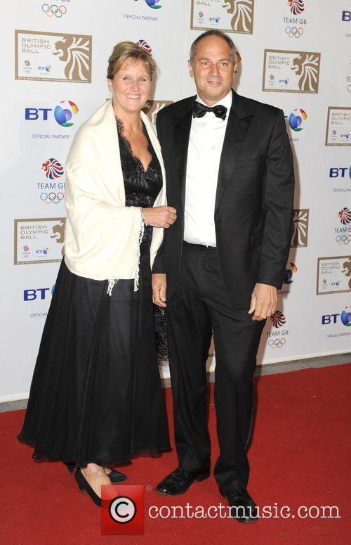 Sir Steve Redgrave and Guest British Olympic Ball...