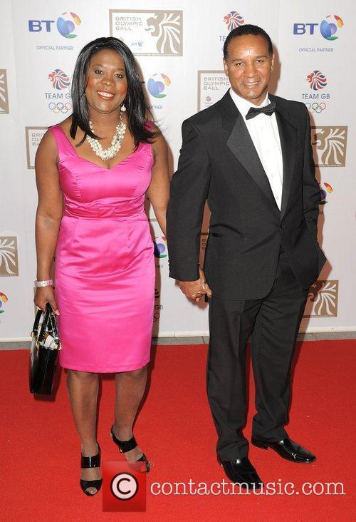 Tessa Sanderson and Guest British Olympic Ball held...