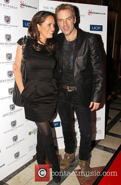 Donal MacIntyre and guest One Hundred London launch...