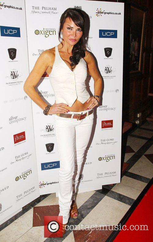 Lizzie Cundy One Hundred London launch party at...