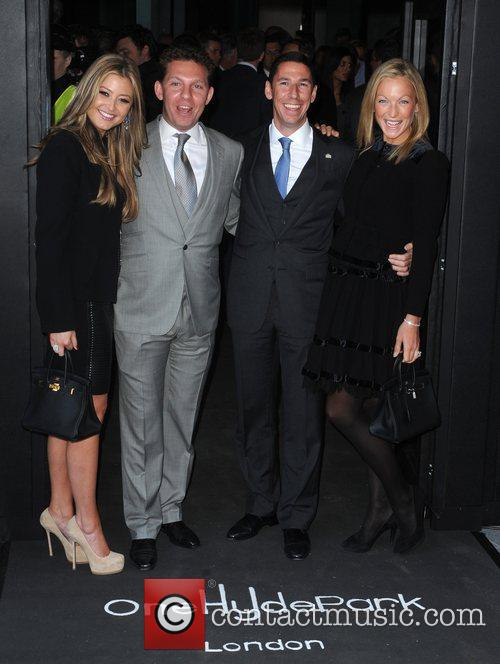 Holly Valance, boyfriend Nick Candy, Christian Candy and...