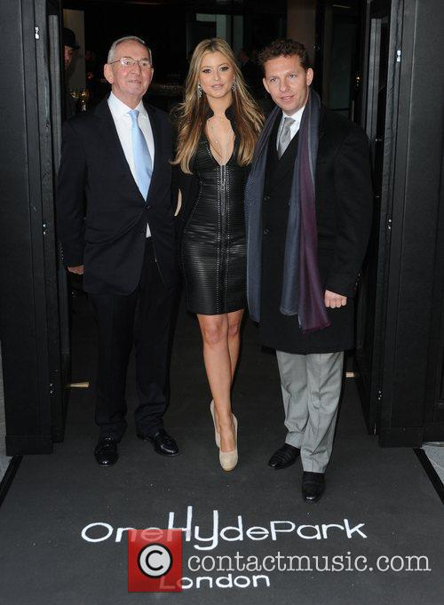Anthony Candy, Holly Valance and boyfriend Nick Candy...