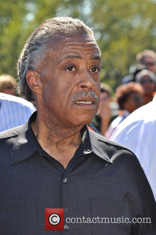 Al Sharpton attends the One Nation Rally at...