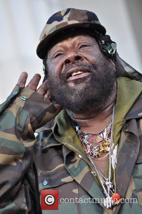 George Clinton attends the One Nation Rally at...
